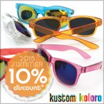 10% discount on all of the Kustom sunglasses! presented by Promopremiums!