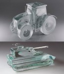 MINIATURE GLASS VEHICLE - NOVELTY