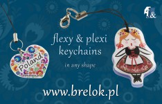 Novelty ! Keychains in any shape !
