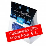 Customized Sweet Christmas Gifts for under € 1 per pcs