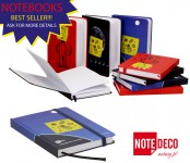 NOTEDECO introduces new line of notebooks.