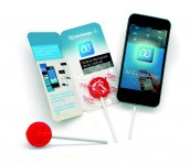 PERSONALIZED FLYERS WITH LOLLIPOP