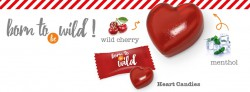 The new wild cherry candy heart is now on offer from Słodkie Upominki!
