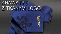SILK  AND MICROFIBRA TIES WITH A WOVEN LOGO