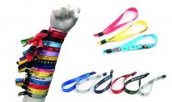 Full colour festival wristbands