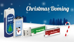 Christmas Doming from USB System.