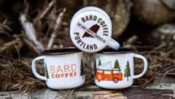 Custom enamel mugs by Emalco Enamelware