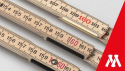 Wooden folding rulers - joints