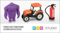 Pamięci USB i Power Banki w dowolnym kształcie.