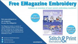 Free EMagazine Embroidery