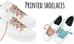 Printed shoelaces