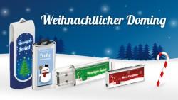 Weihnachtlicher Doming aus dem USB Stock / USB System Angebot!