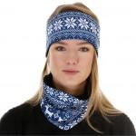 Headband with fleece