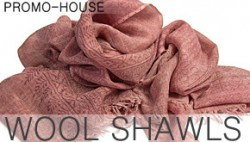 NEW COLLECTION WOOL SHAWLS VENZO