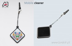 Cell phone screeen cleaner