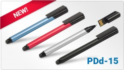PDd-15 - 3in1: USB memory – pen – stylus for the phone