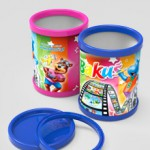 Lenticular cups for office accessories