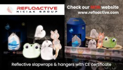 Reflective accessories with CE certificate