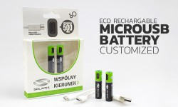 Eco USB Rechargeable AA & AAA Batteries
