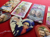 car paper air freshener with your photo