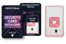 Security card with chip