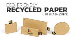 Eco Friendly Recycled paper USB flash drive